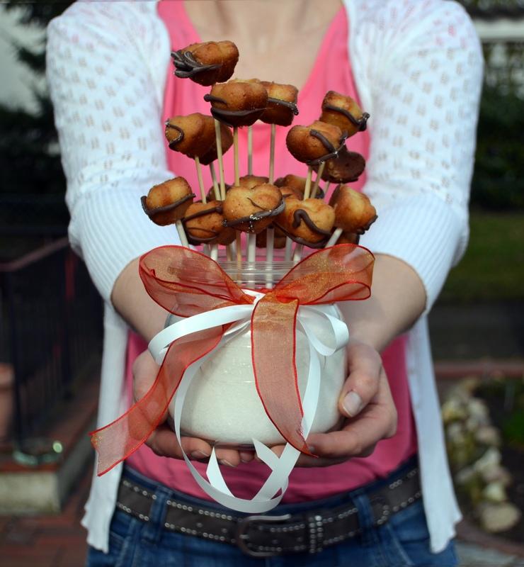 Eierlikörkuchen am Stil oder Backen mit Umdrehung