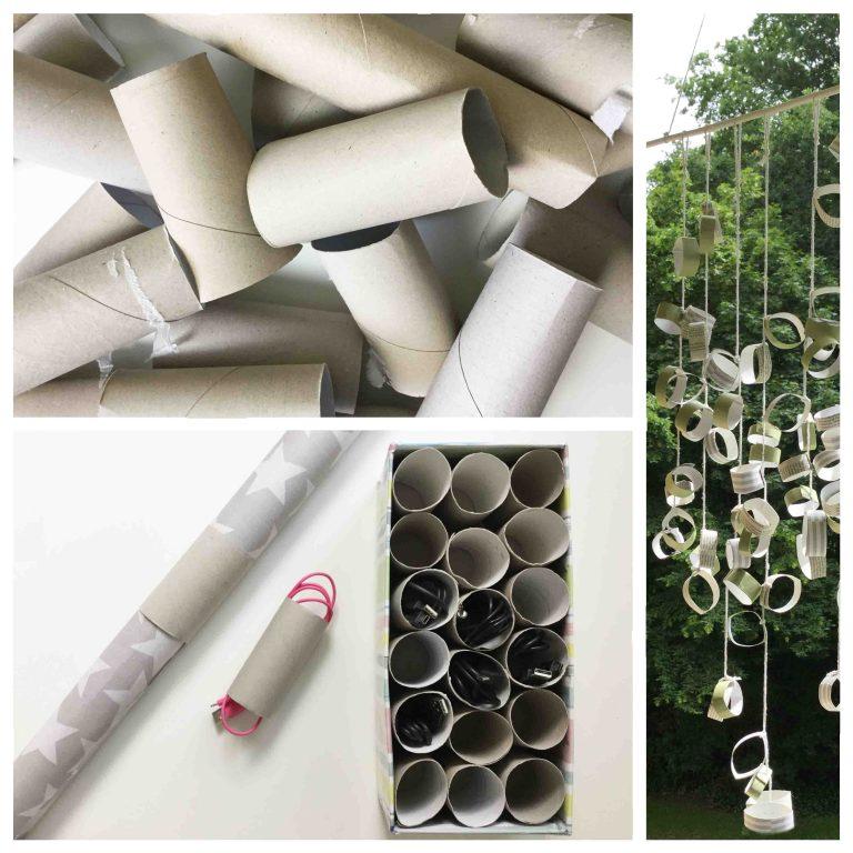 Mit Toilettenpapierrollen basteln - Vielseitige Verwendung