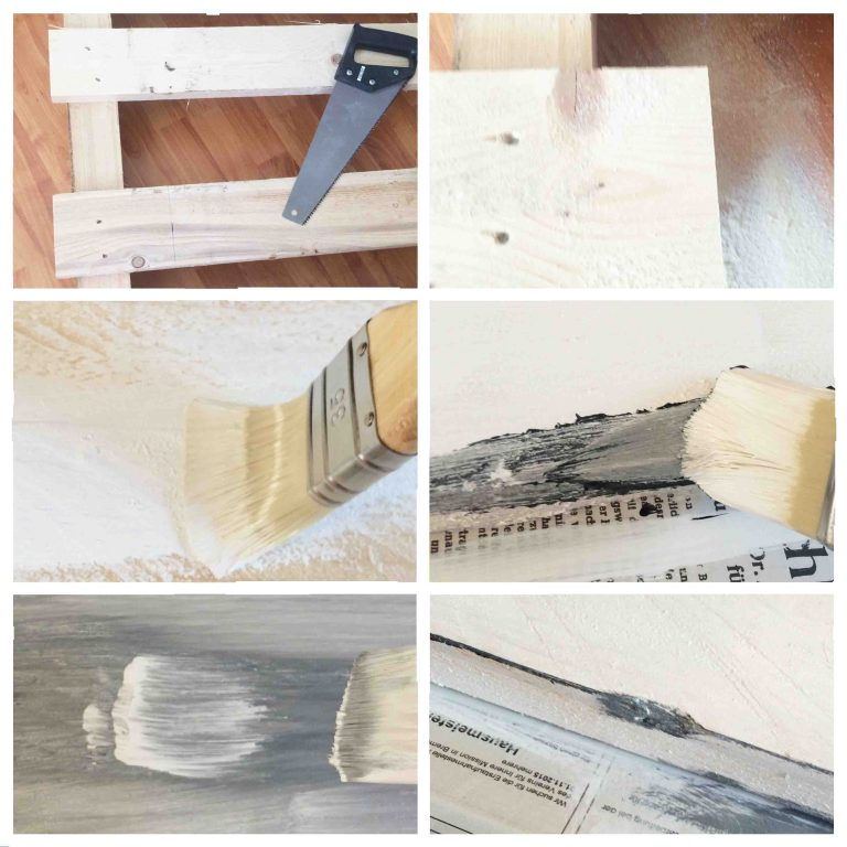 Palettenmöbel für den Flur | Schlüsselbrett