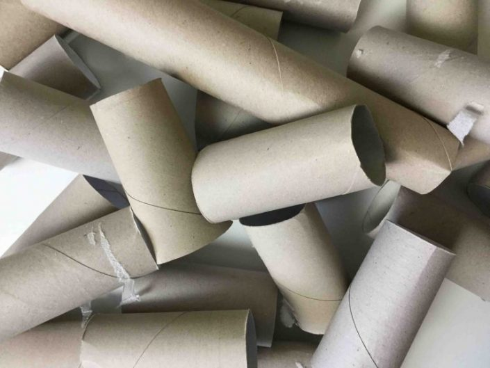 Basteln mit Toilettenpapierrollen
