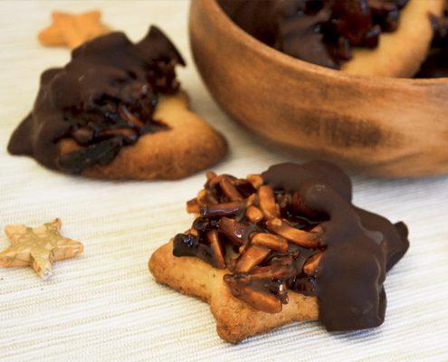 Gebrannte Mandeln mal anders! Rezept für Mandel-Cashew Plätzchen