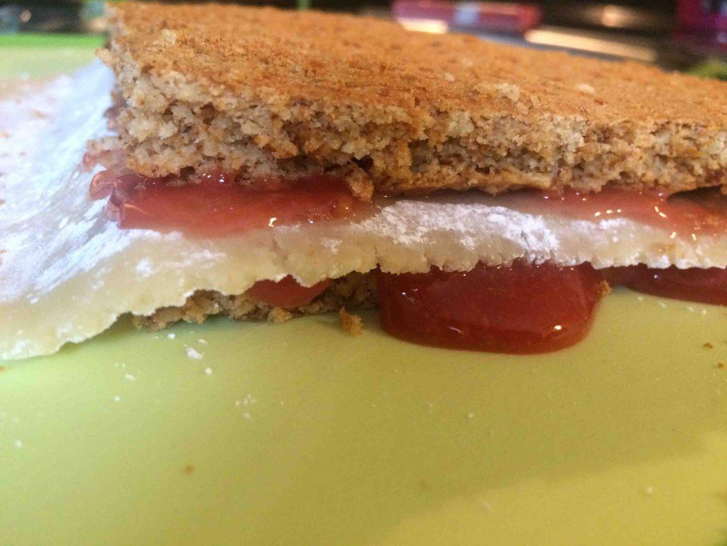 Veganer Keks Weihnachtsteller | Dominosteine