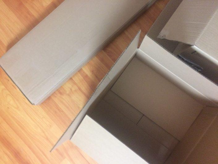 Kartons suchen