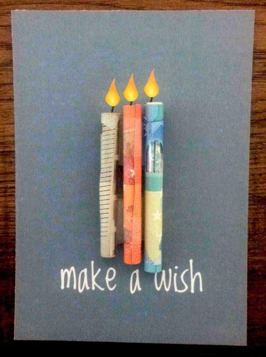 Geschenkkarte für Geld – Last Minute Geschenkidee No. 3 (mit freebie)